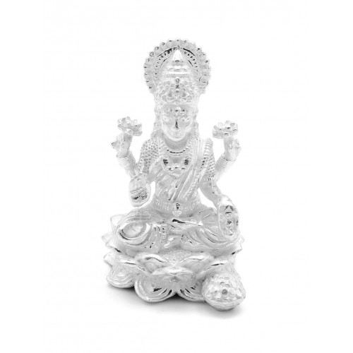 White Goddess Laxmi ji Idol