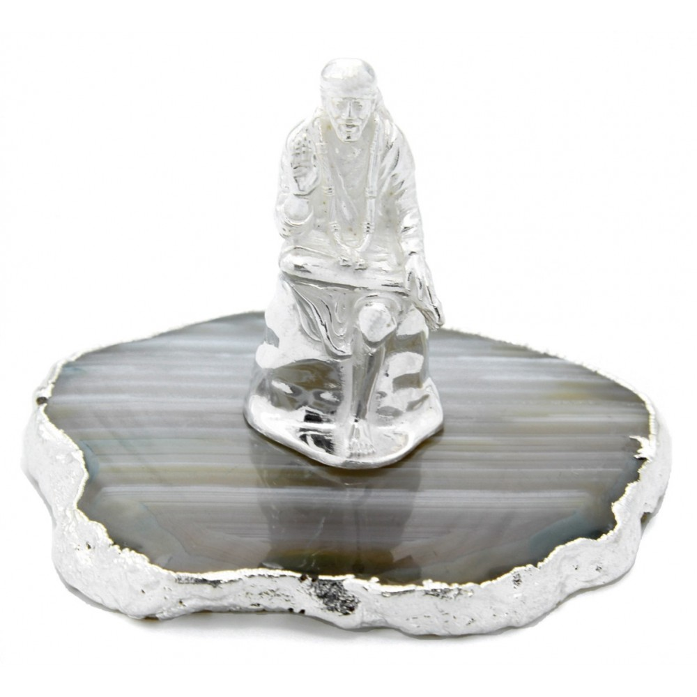 23 gm Religious Silver Sai Baba Idol/Murti