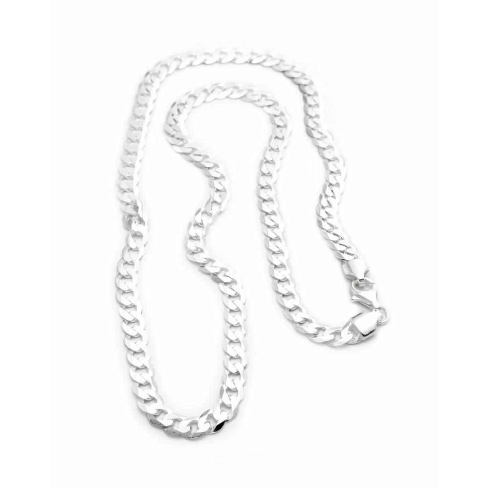 Designer White Silver Chain for Men/Boys