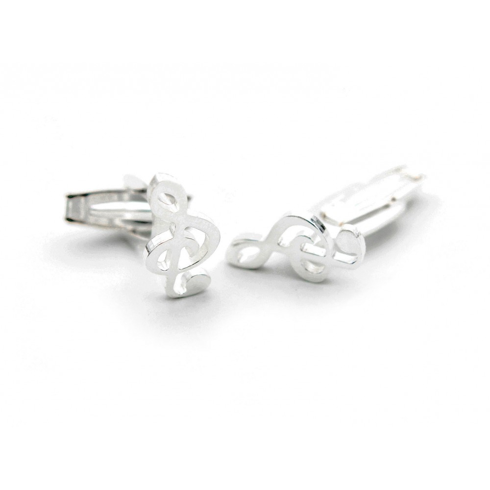 & shape Cuff Links
