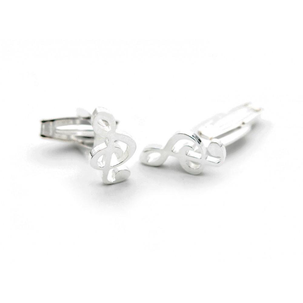 & shape Cuff Links