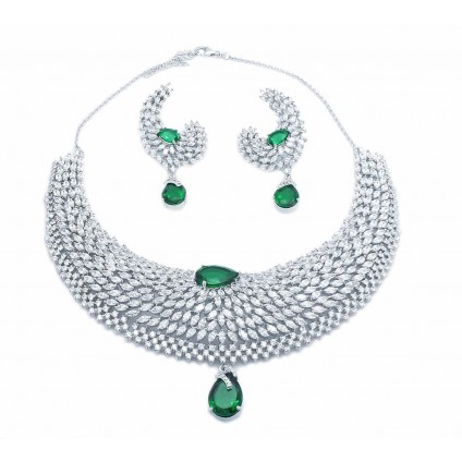 Traditional Wedding Necklace Set for Women/Girls