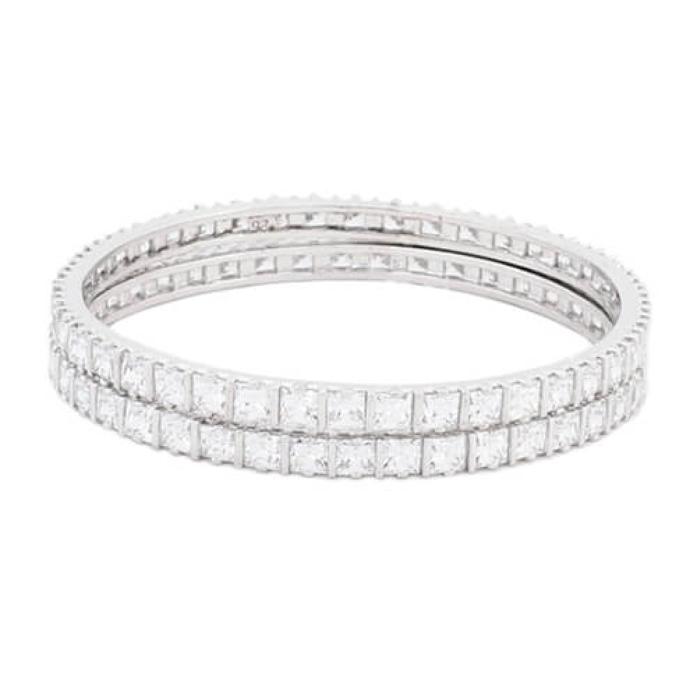 Princess Cut  Designer Bangles