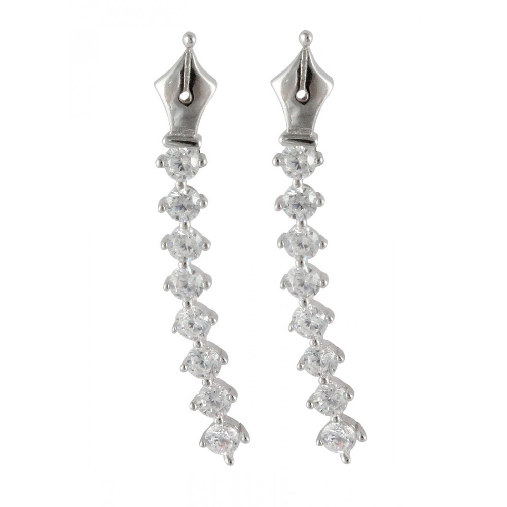 Designer Silver Pen Nib Sui-Dhaga
