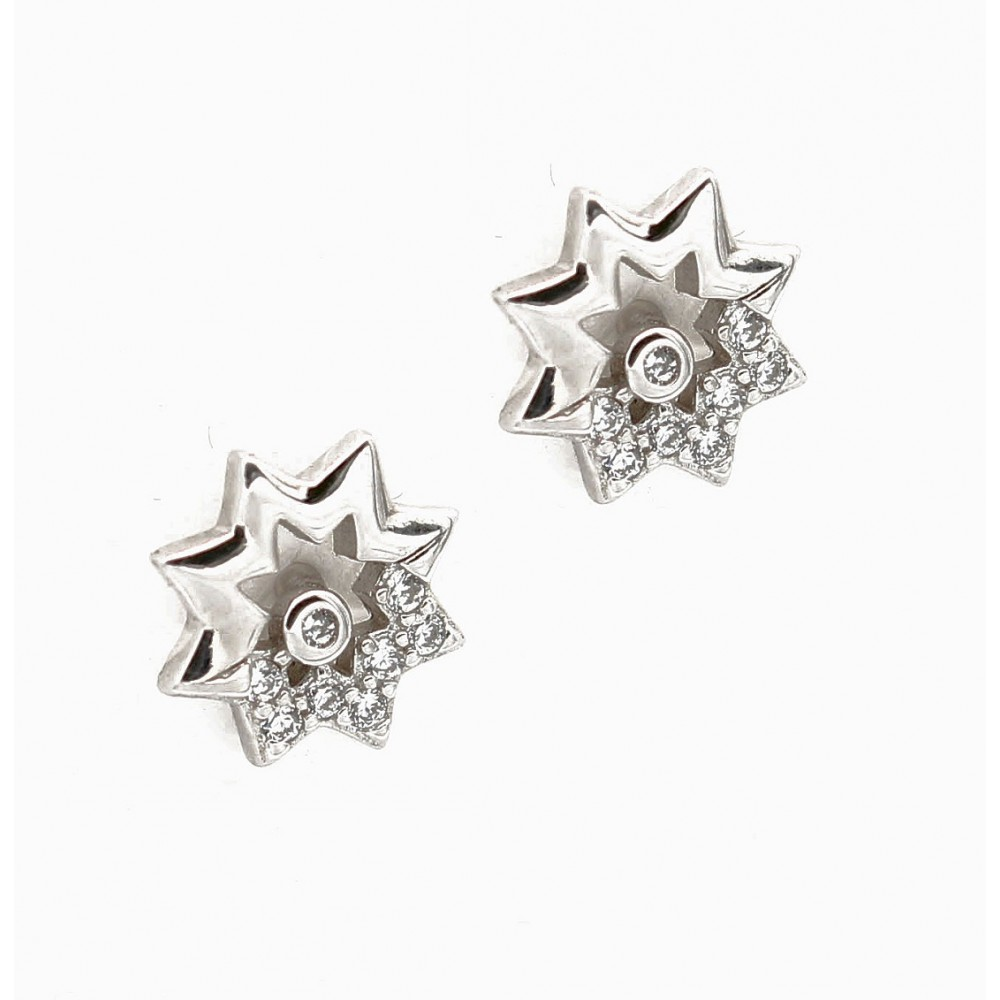 Hollow Flower Earring Studs