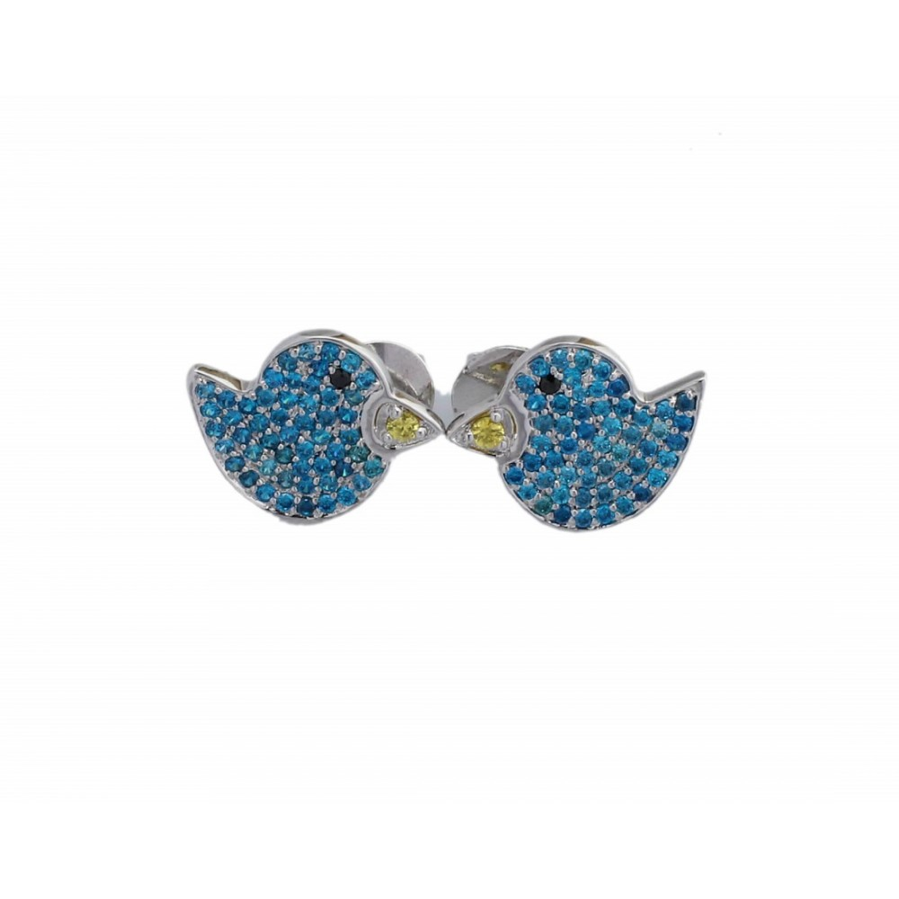 Blue Bird Designer Studs