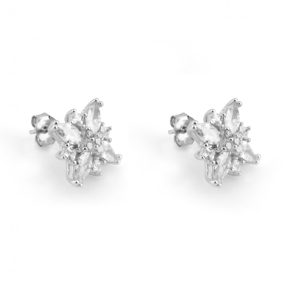 Stylish Floral with Petal Earring Studs