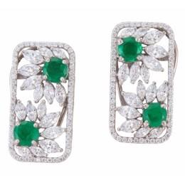 Beautiful Royal Swarovski Earrings