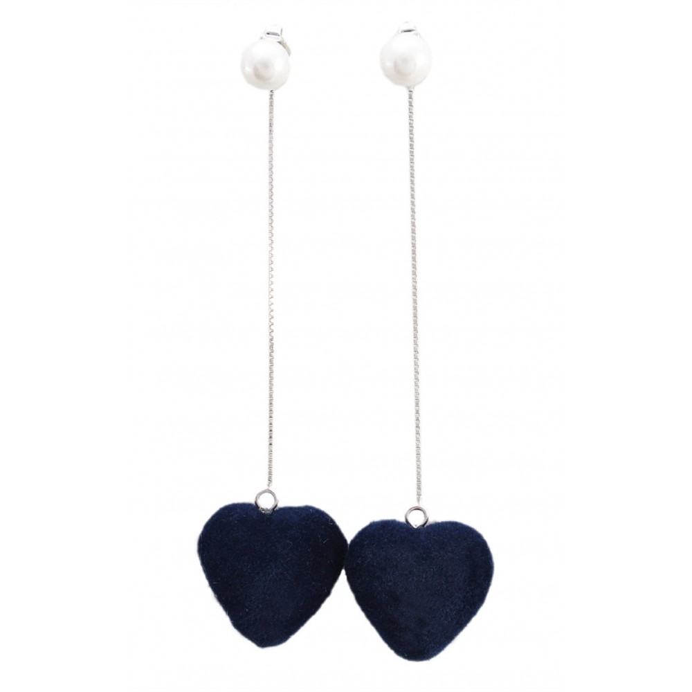 Blue Heart Dangler