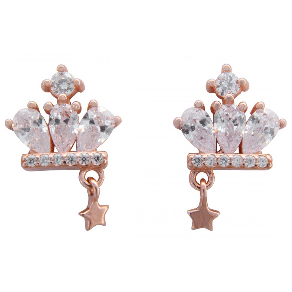 Crown Earring