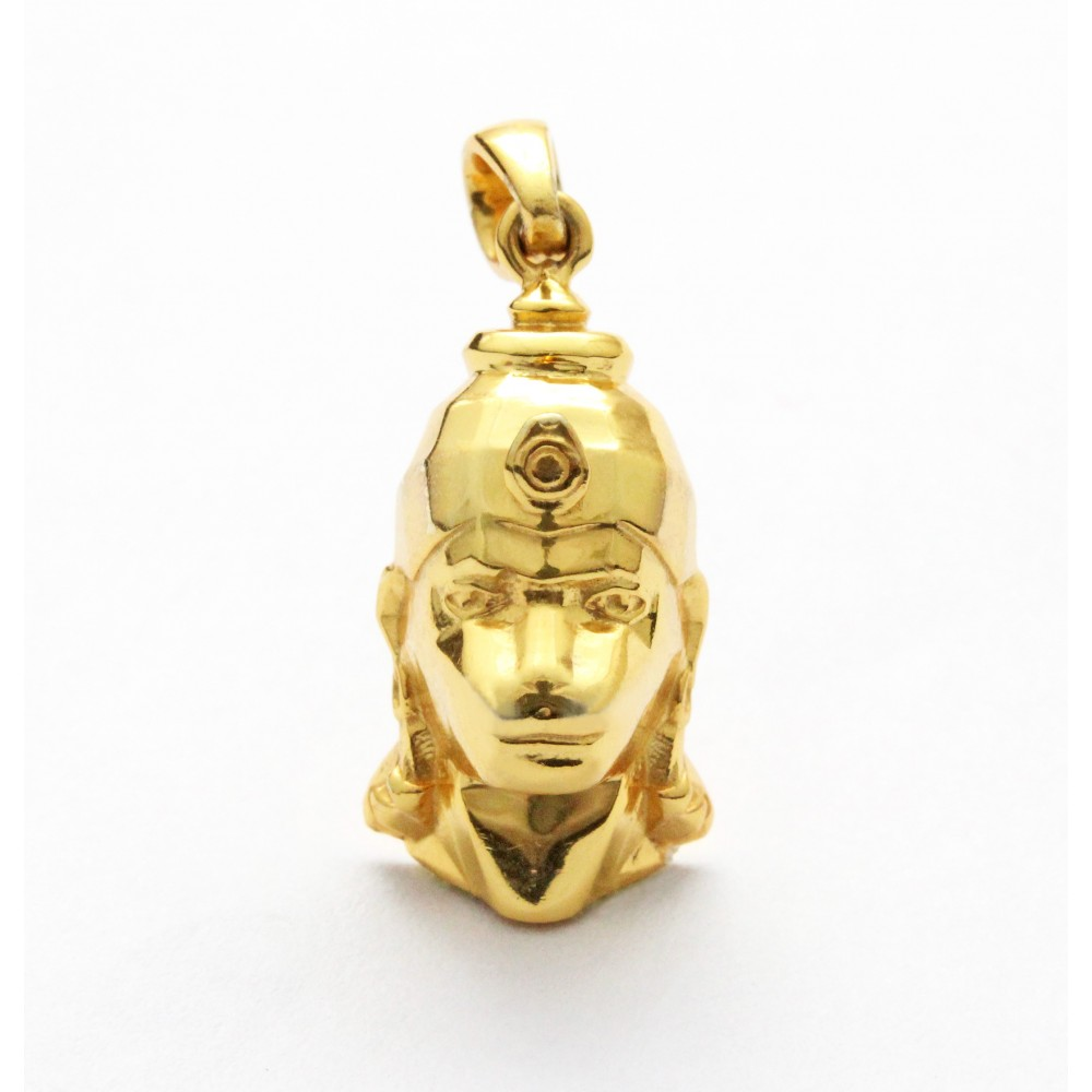 Lord Hanuman Golden  Pendant