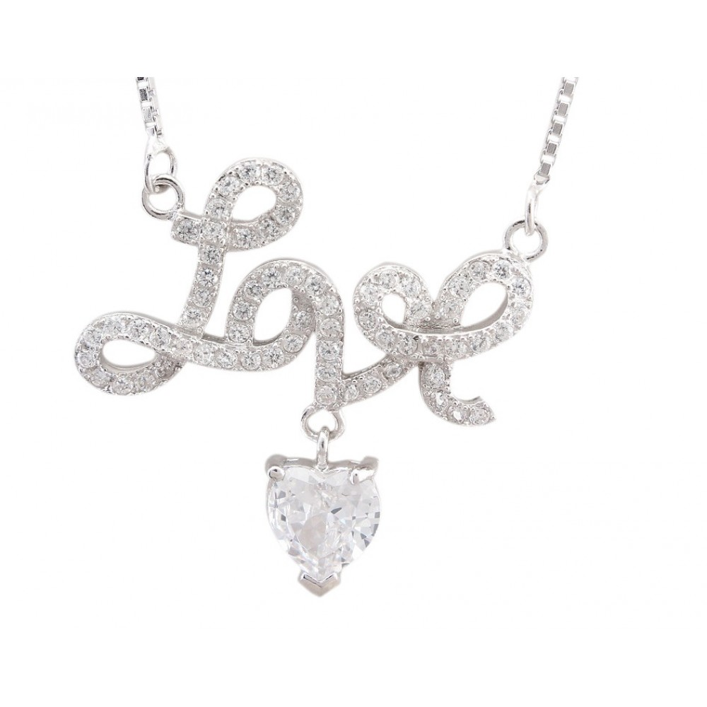Love Pendant With Chain