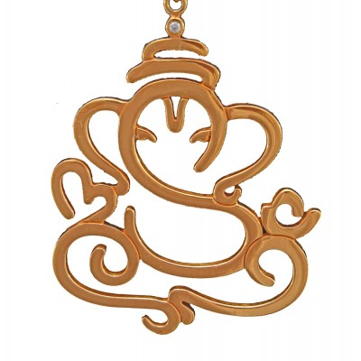 925 Sterling Silver Vinayak Pendant For Unisex