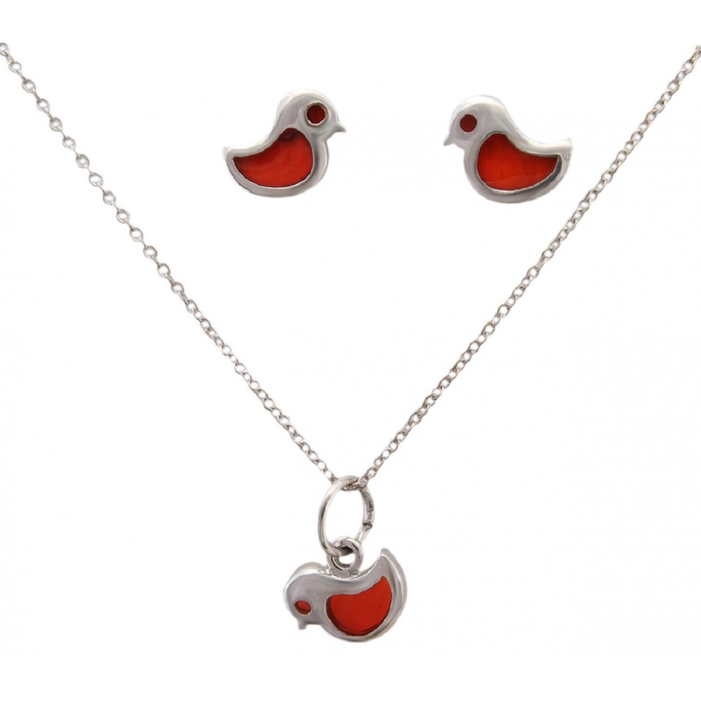 Bird Pendant Set