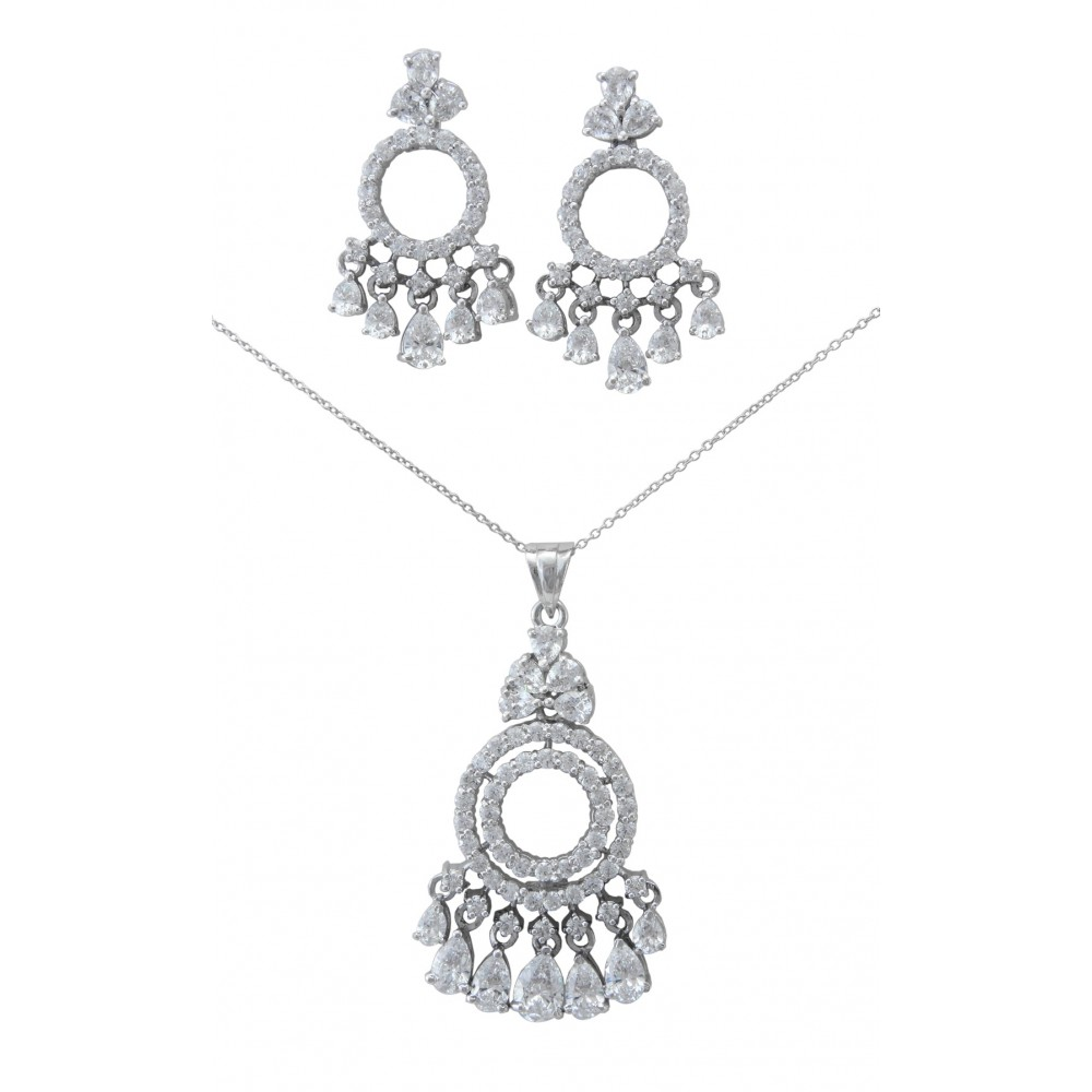 Chandelier Pendant Set