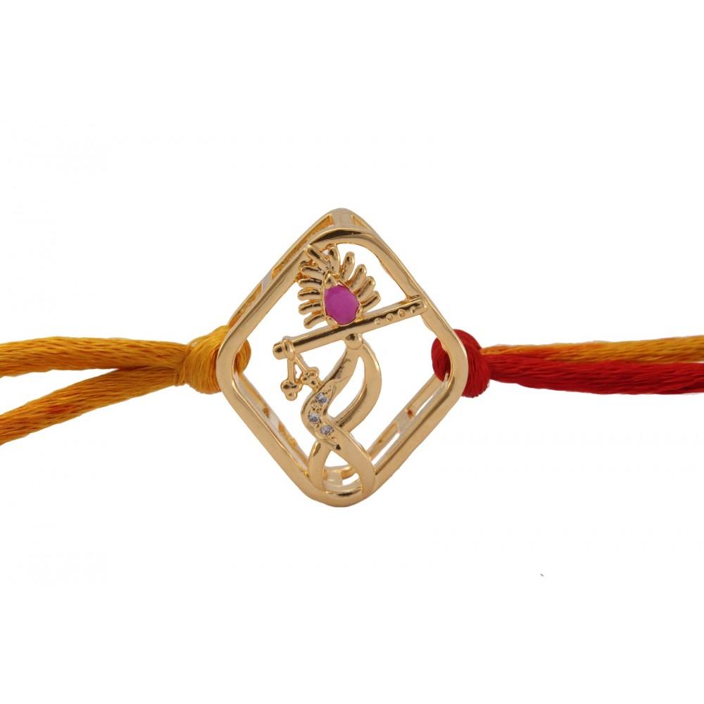Lord Krishna Rakhi Cum Pendant
