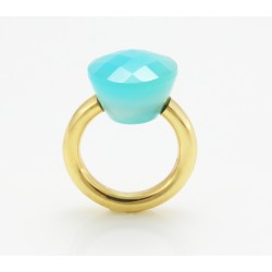 Trendy Solitaire Ring