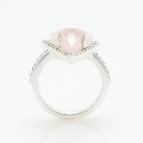 Pink Stone Classy Ring