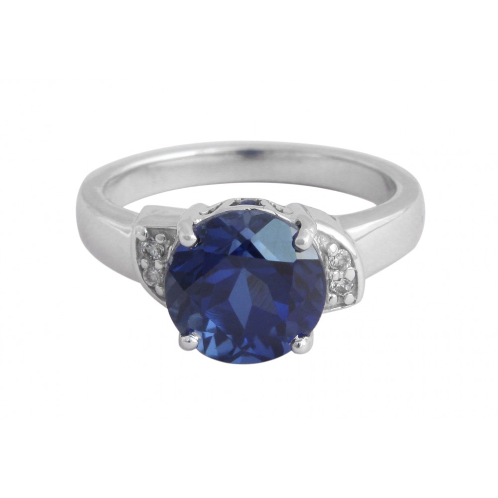 Classy Blue Stone Ring